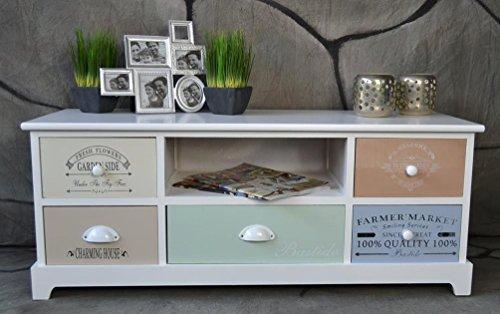 sie suchen nach landhaus kommode bunt. Black Bedroom Furniture Sets. Home Design Ideas